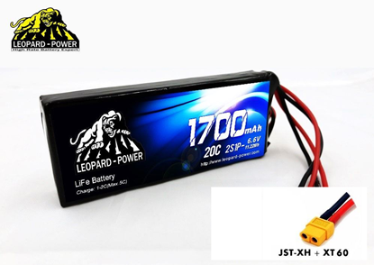Picture of Leopard Power 2S 6.6v 1700mah 20c Life Battery with XT60