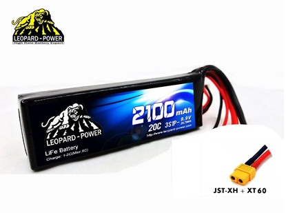 Picture of Leopard Power 3S 9.9v 2100mah 20c Life Battery with JST