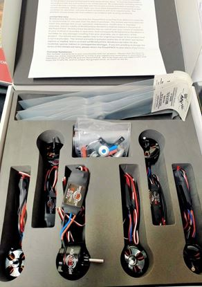 Picture of FireFly 6 Power Pack by Hobbywing- FPV combo (6 x 400+ watt motors, 6 x 30A Opto ESCs, 4x 10 x 4.5 props)