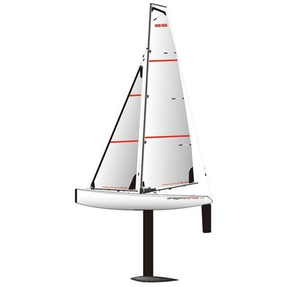 Picture of Joysway J8815A Dragon Force 65 V6 RC Yacht PNP (Requires a transmitter & receiver to complete.)